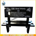 Haobo Stone Granite Marble Memorial Benches