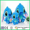2016 Free Shipping 20cm 35cm 45cm Kawaii Angel Stitch Plush Doll Toys Lilo and Stitch Baby