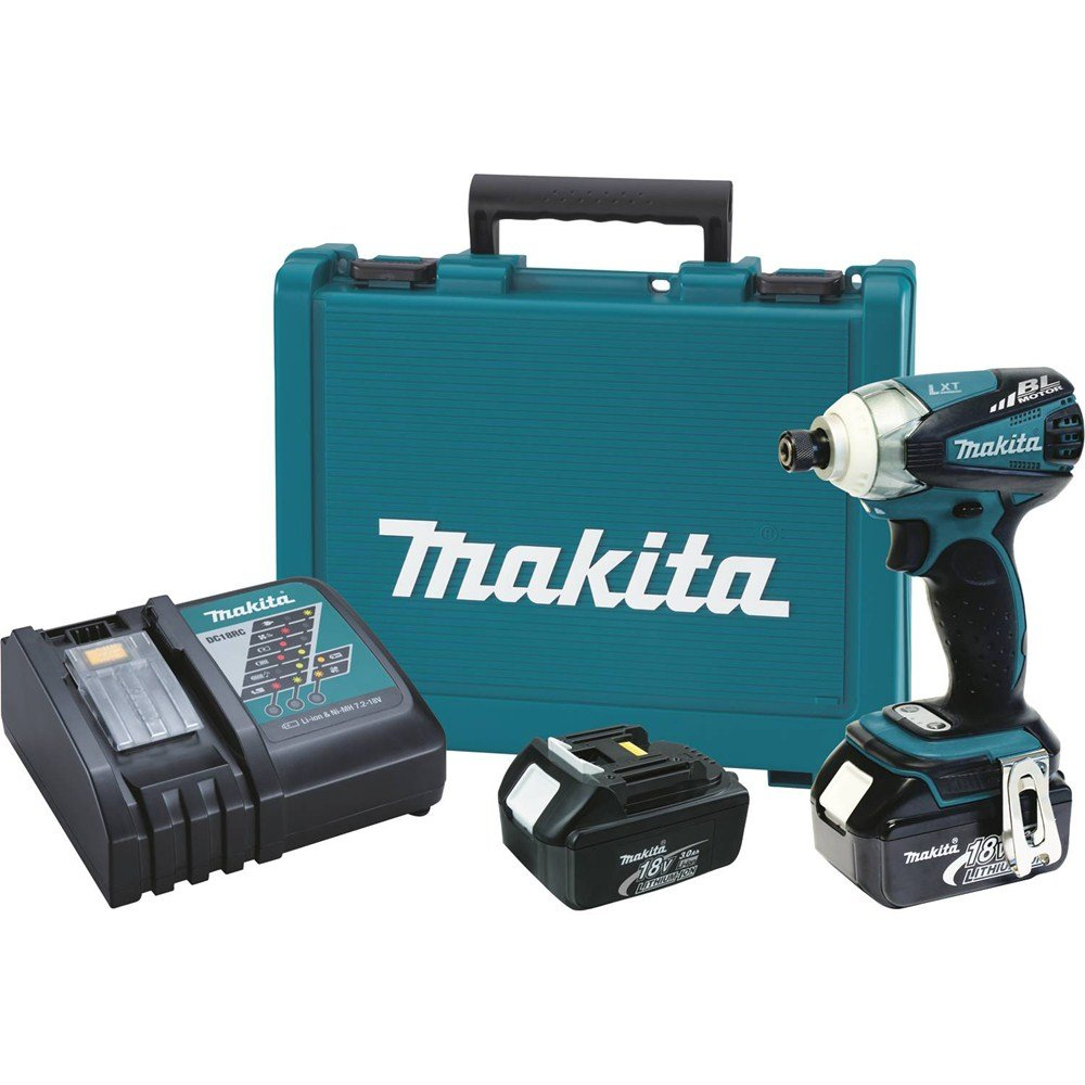 Makita XDT01 18V LXT Lithium-Ion Brushless Cordless 3-Speed Impact Driver Kit (Discontinued by Manufacturer)