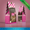 snack custom brown kraft paper bag snack packaging