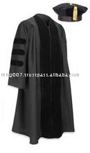 Doctorate Tam, Gown, Tassel