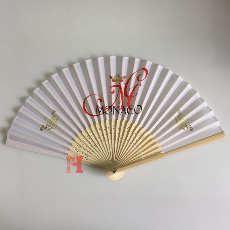 Verkoop Reclame Custom Design Zijde Japanse Kant Fan