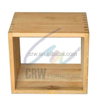 Oa 4047 Morden Living Room Furniture Parion Solid Oak Cube Cabinets