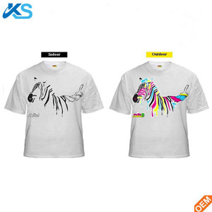 UV Sensitive Color Change T Shirt Printing Color Change By In Sun T Shirts