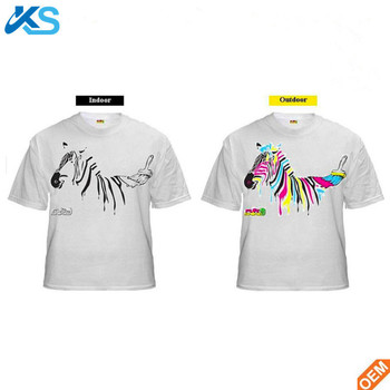 Color Changing Shirts >> Uv Sensitive Color Change T Shirt Printing Color Change By In Sun T