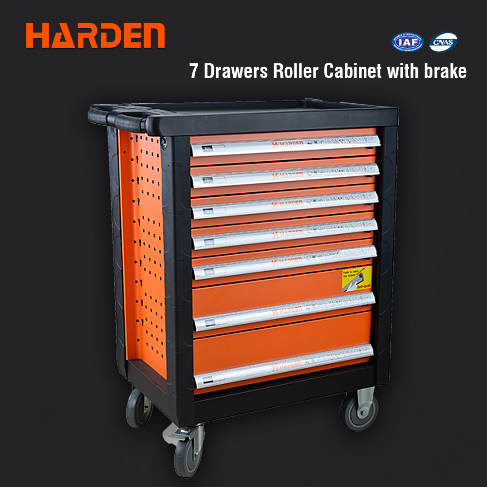 Prime Cold-roll Steel Sheets Tool 7 Drawer Cabinet with Wheels