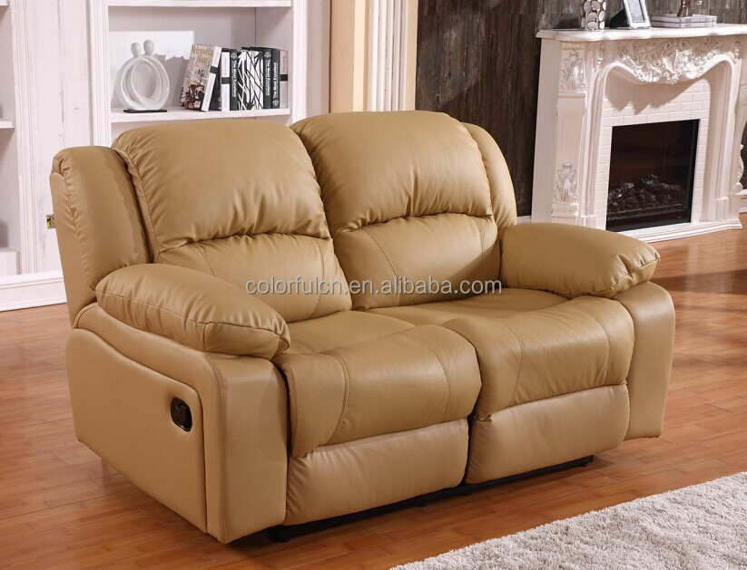 Superbe Genuine Leather Hot Sale Recliner Sofa/Cheap Genuine Leather Sofa/Blair Leather  Sofa LS908