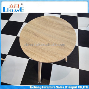 MDF for round tables/round coffee tables/round study tables furniture manufacturer in Bazhou