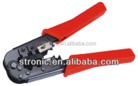 Modular Plug Crimps, Strips & Cuts Tool