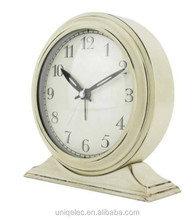 MDF wood antique mantel table clock for sales
