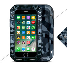 New LOVE MEI Silicone Camouflage Mobile Phone Case Accessories for iphone 7
