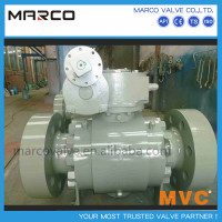 Hot sale manual handwheel or gear operated trunnion mounted dn200 8 inch ball valve or others