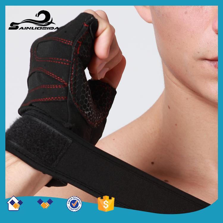 ตัวอย่างฟรี Qualtity สูงถุงมือกีฬาป้องกันการลื่นไถลผู้ชายและผู้หญิงถุงมือยิมเพาะกายการออกกำลังกายการฝึกอบรมกีฬาแข่งถุงมือ