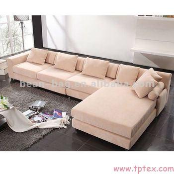 Cut And Sewn Corduroy Fabric Sofa Slip Cover