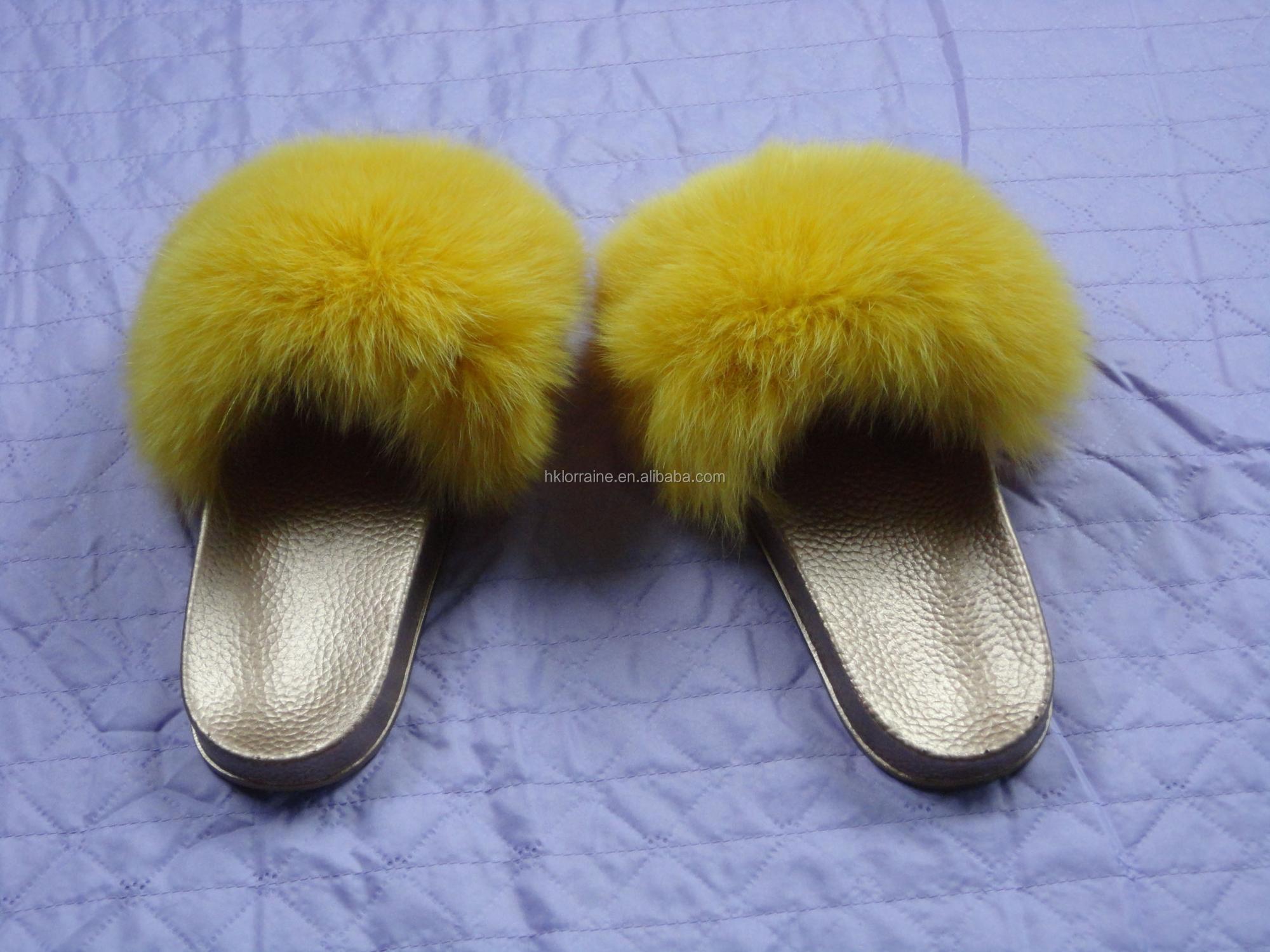 9b5ae1d1b4022 Fur Slides Women Ostrich Home Slippers Feathers Fluffy 44 Sweet Sandals  Beach Shoes Summer Pantufa Fashion Sliders Flip Flops - Buy Fox Fur Shoes  ...