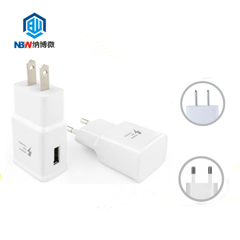 High quality travel charger power adapter for Samsung S8 S9 5V2A 9V1.67A fast charger