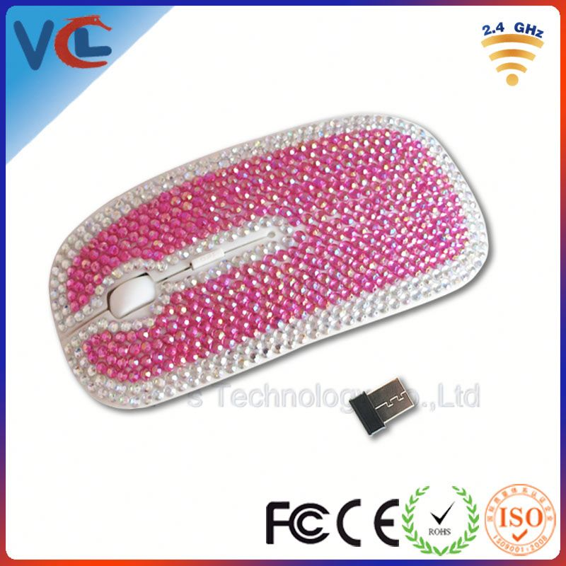 Diamond computer mouse with gracious design for promotional gifts