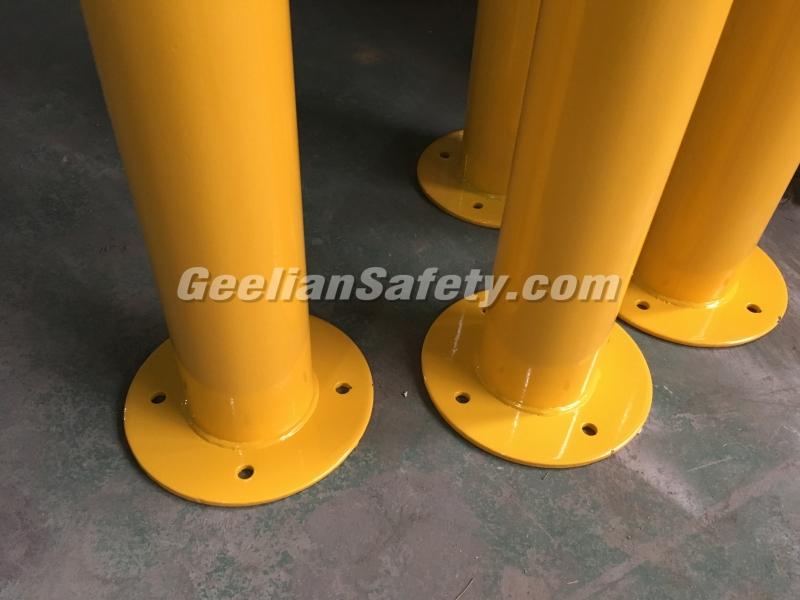 Steel Lockable Road Safety Parking Bollards Sydney Used in Driveway or Car Parking Bollards