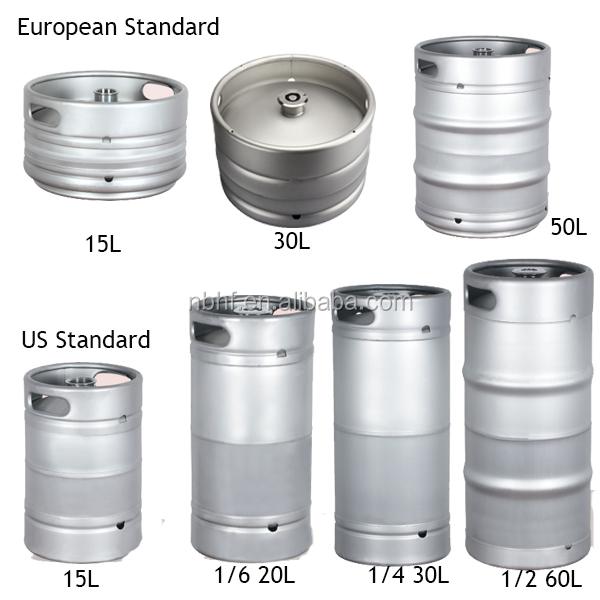 Mini-Fass Growler Edelstahl-Weinkanne Neue Edelstahl-Bierbrauereiausrüstung