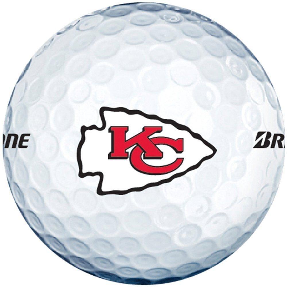 Get Quotations · 3 Dozen Bridgestone E6 Mint   AAAAA (Kansas City Chiefs  NFL LOGO) Golf Balls a833a5eb8