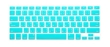 Thai Language Color Keyboard Cover Silicone Skin Protector for MacBook Pro 13″ 15″ 17″ iMac(with or w/out Retina Display)Air 13″