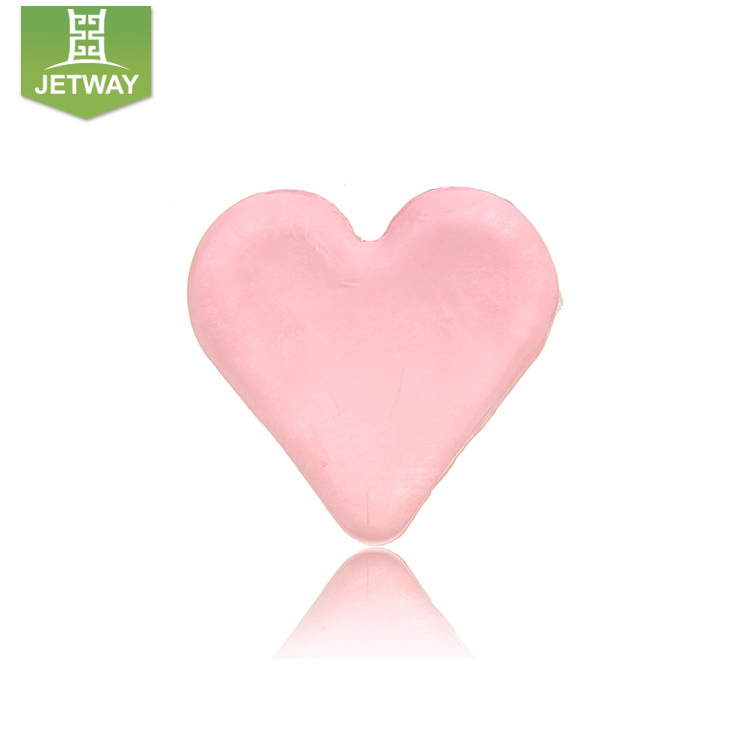 Nature gentle fruit flavor heart shape 100% pure glycerin soap