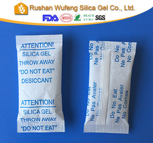 DMF Free silica gel desiccant bag