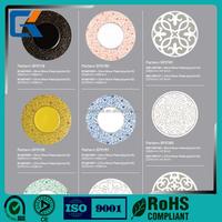 Colorful health dishwasher safe high strength porcelain food plate