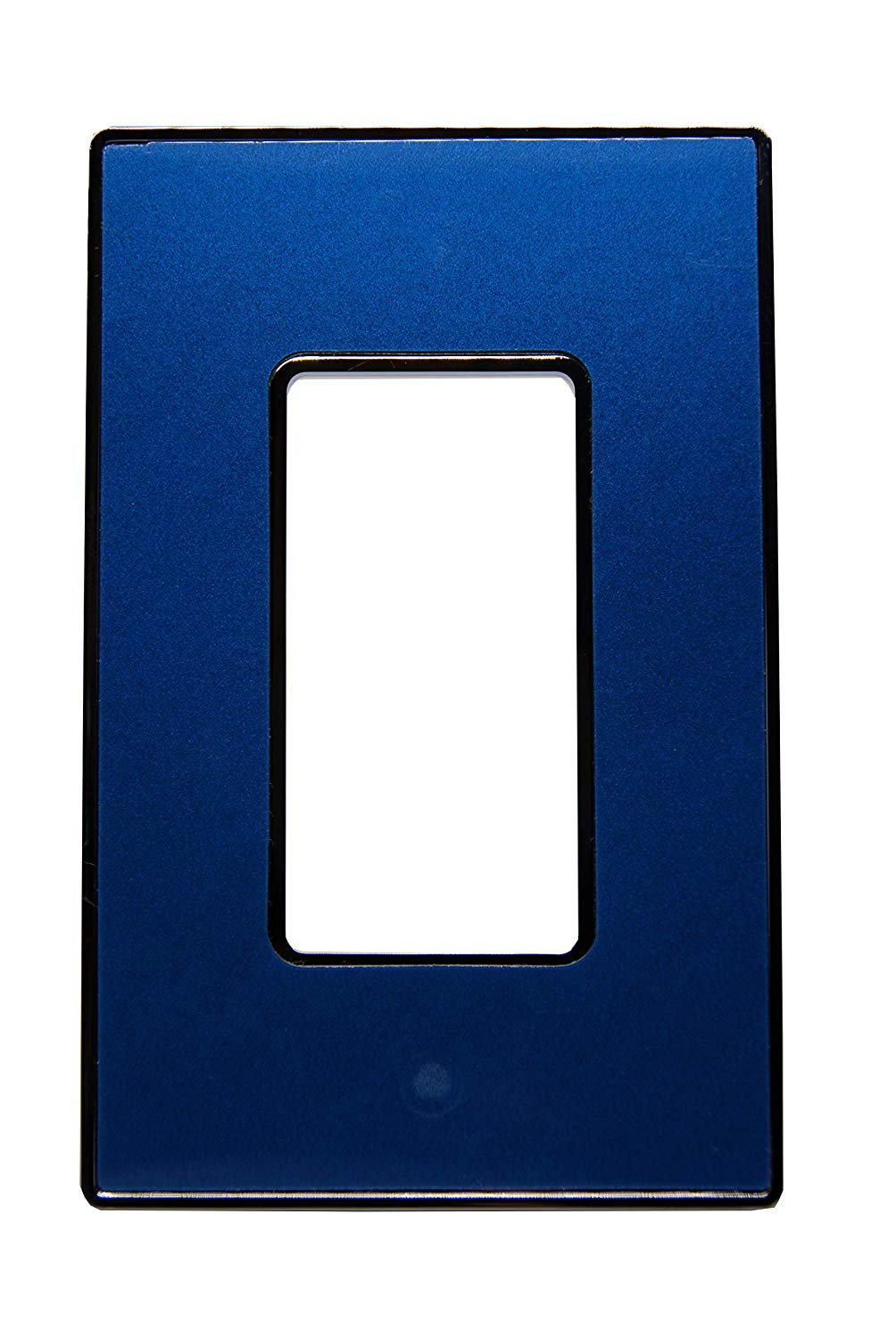 Urban Chameleon Premium 1-Gang Decora/Rocker/GFCI Outlet/Timer/Dimmer Light Switch Cover (Wallplate/Switch Plate) (Blue Pearl)