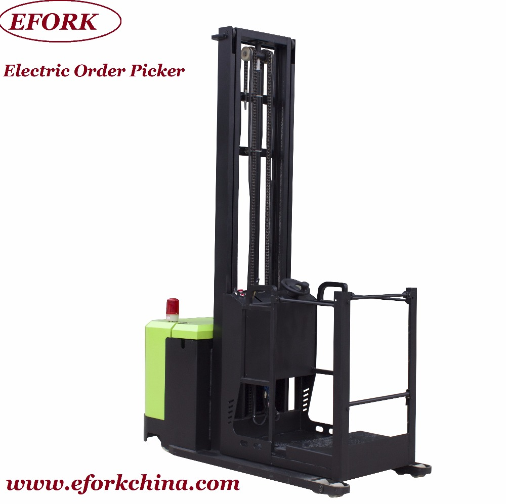 Efork Top Quality Self-propelled Electric Order Picker Truck Triple Mast -  Buy Electric Order Picker,Electric Lifting Platform,Order Picker Product on