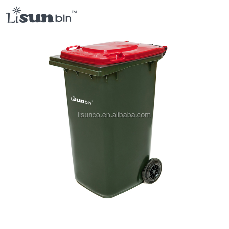 Plastic big waste container garbage for street on sale