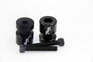 Swingarm Spools For Suzuki Gsx-R 600 750 Rf600 R Sv1000 S Sv650S Tl1000S Black
