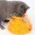 Amazon hot sales cat toys tower track ball toy pet toy cat ball toy