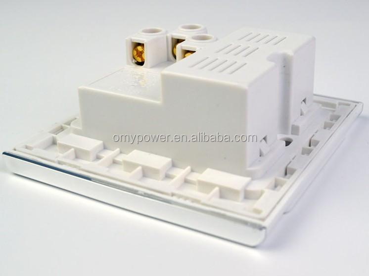 Glass Faceplate Uk British Malaysia Singapore Usb Wall Socket For ...