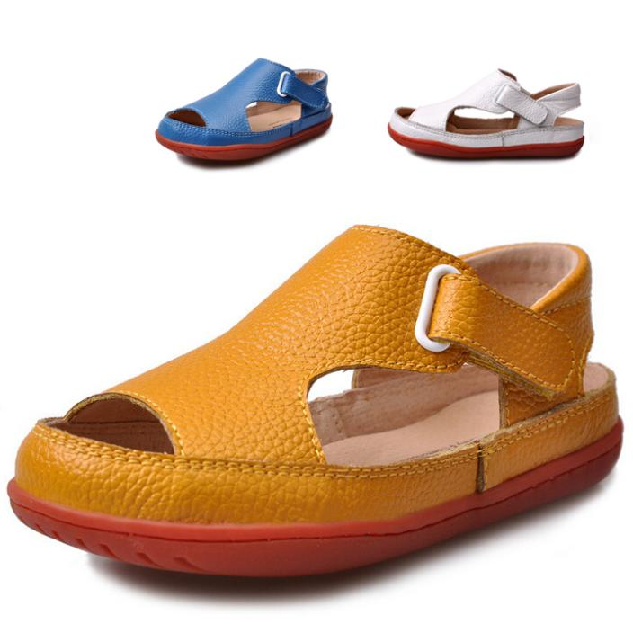 f7048e6ab5eb0 Buy 2015 new arrival children sandals boys sandals fashion kids sandals  genuine leather breathable children shoes boys shoes in Cheap Price on  m.alibaba.com