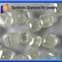 China manufacturer HPHT Large Size rough uncut gemstones