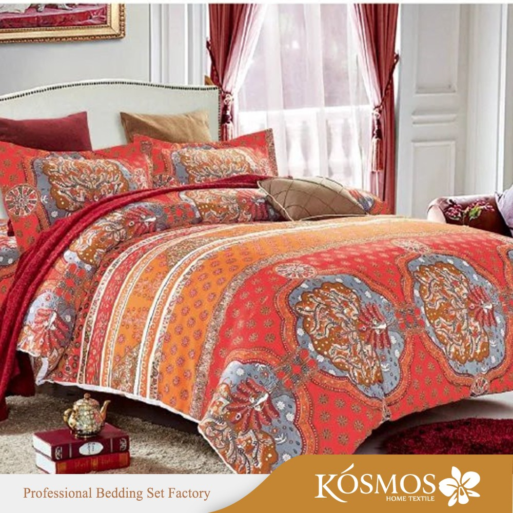 Ribbon work bed sheets designs - 4pcs 110gsm Microfiber Custom Home Textile Printed Ribbon Work Bed Sheets Designs