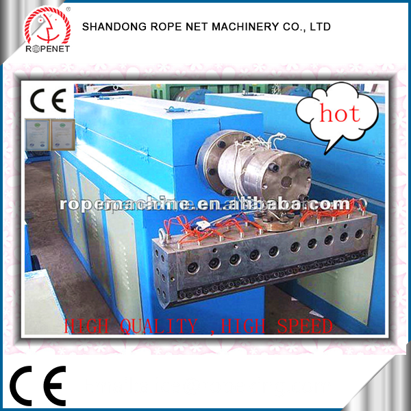 High Output fibrillated polypropylene fibers extruder for making pp baler twine