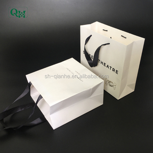 custom hair brush packaging gift paper bag