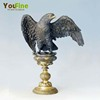 Hot sales indoor decoration bronze eagle sculpture
