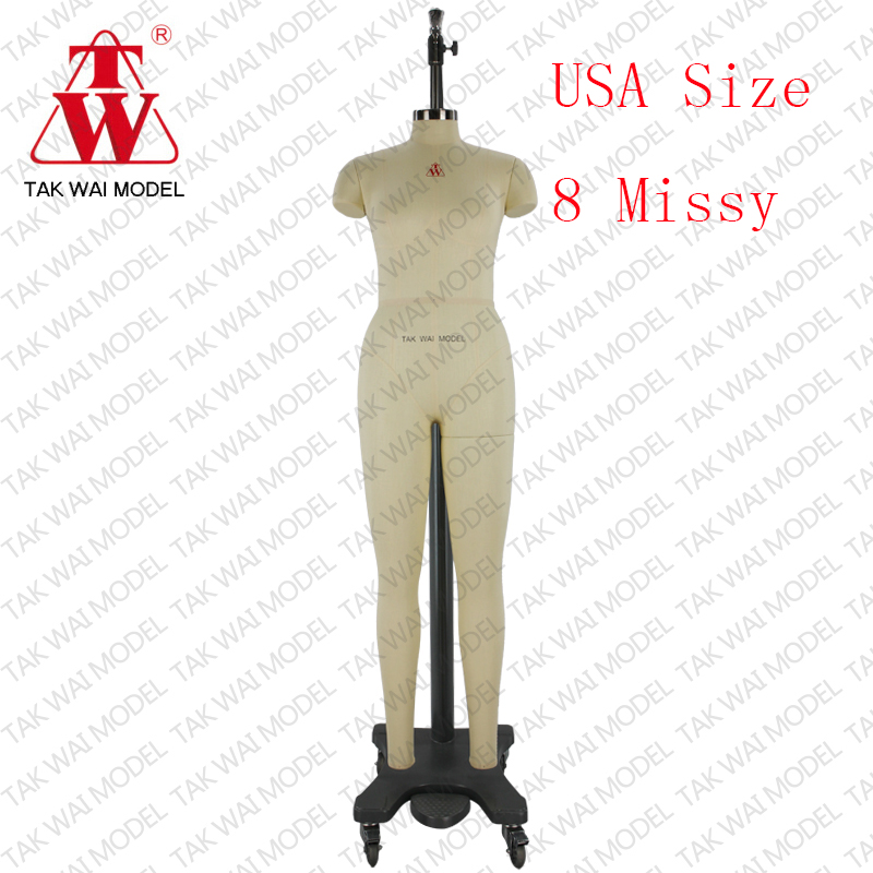 Cheap lady USA Size 8 Missy fitting wire mannequins for sale