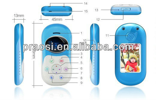 mini ibaby cell phone GPS kids phone CE Rohs