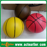 pvc toy ball inflatable mini basketball toy