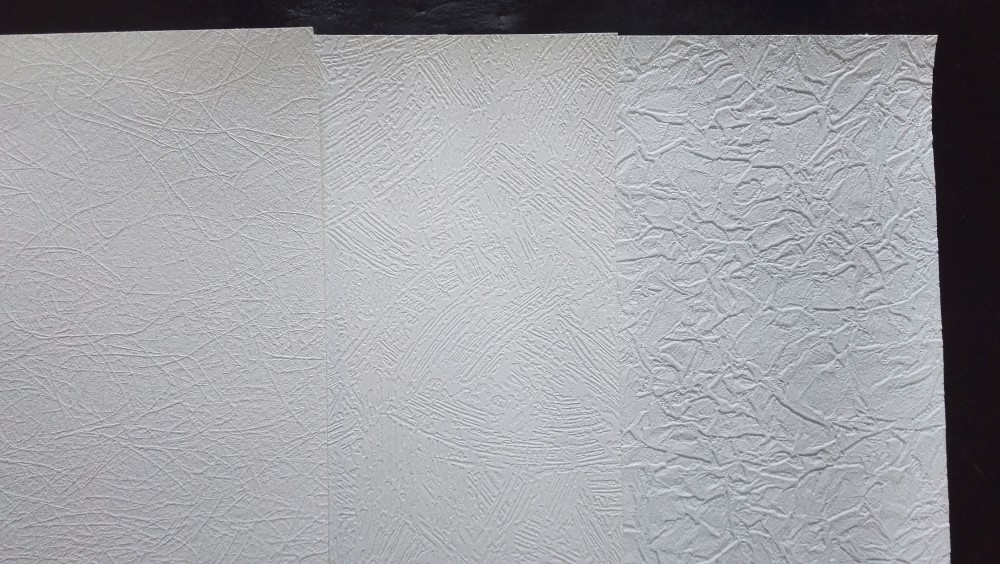 137cm width inkjet printable blank clear white fabric backed pvc vinyl wallpaper wallcovering roll