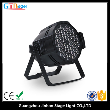 54x3w RGB DMX led par light for nightclub/54x3w par light full color waterproof par light