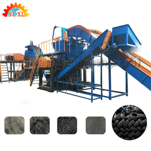 High quality waste tire recycling machine/durable waste tyre recycling to reclaimed rubber production line