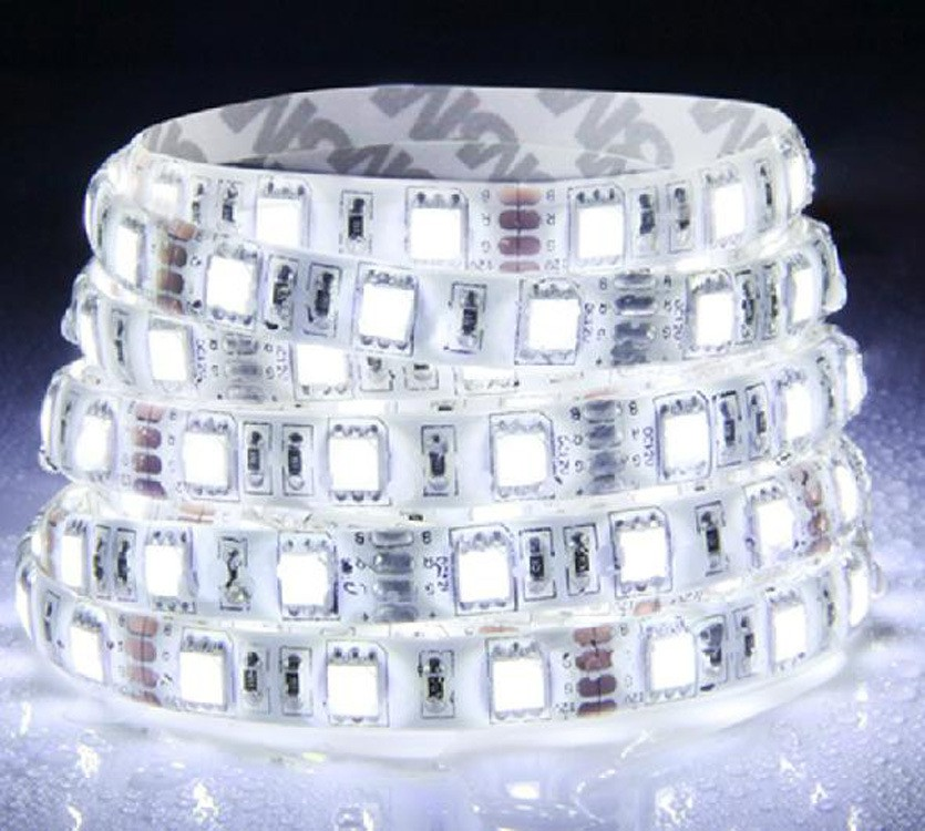 Chinese factory 5V SMD5050 flexible decorative LED strip light, outdoor waterproof strip LED light