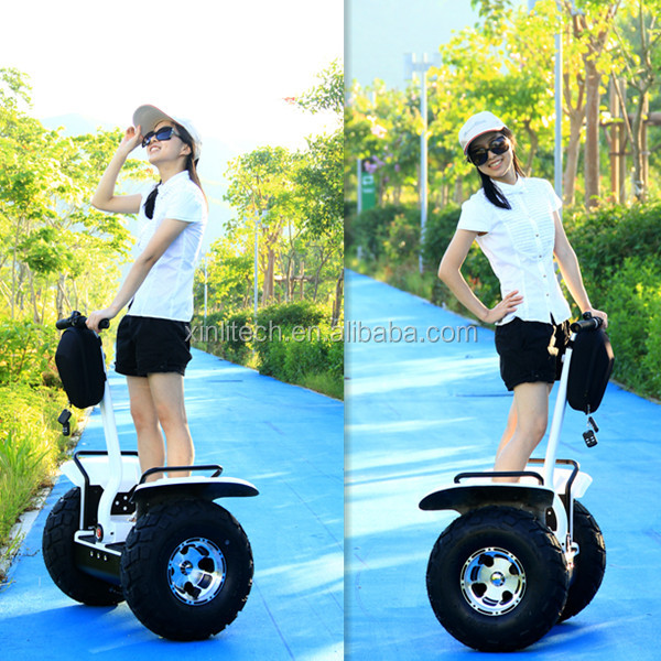 Good Quality Awesome Wheel Golf Carts Self Balance Electric Scooter With Bag Carrier