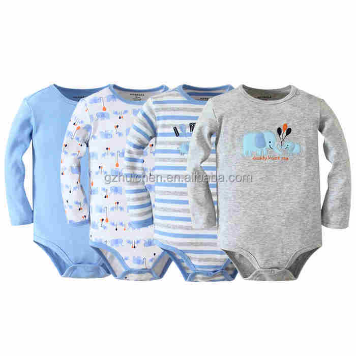 Wholesale MOM AND BAB 100%cotton baby clothes boys baby romper ...