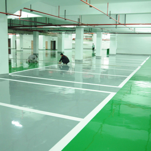 Indoor Industrial Waterborne Epoxy Floor Paint Set